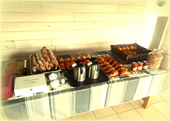 buffet du brunch