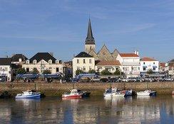 Le port de pêche de Saint-Gilles Croix de Vie.