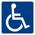 Accessible pour handicapés.
